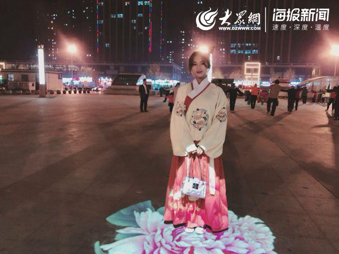 菏泽汉服街拍 把传统文化传带进日常生活