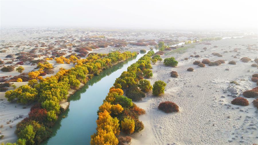 生态中国·壮美山河瞰新疆