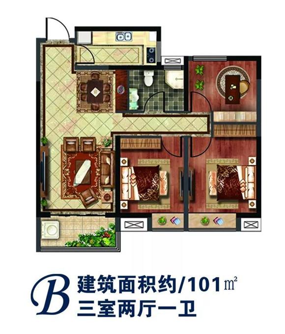 房屋策划图手绘