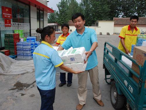 中石油菏泽销售分公司女工获发特殊劳保用品