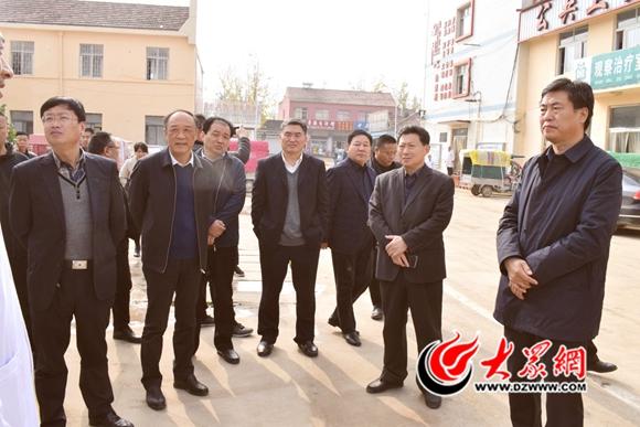 曹县参观学习单县医疗卫生服务体系建设