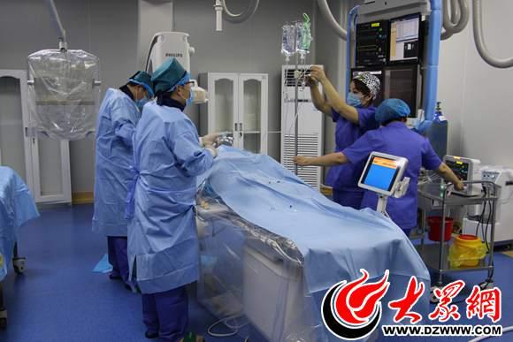 曹县中医院首例心脏支架植入手术获得成功