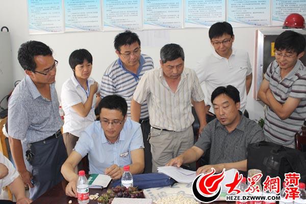 菏建集团首批省优质结构杯工程通过现场复查