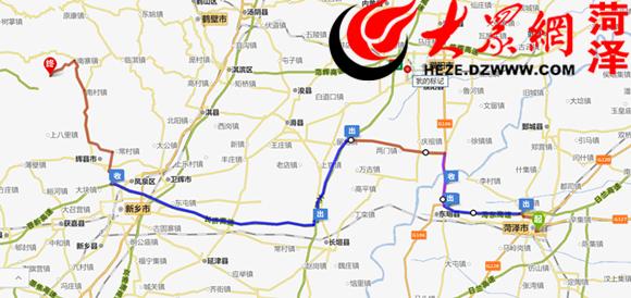 万仙山风景区地图