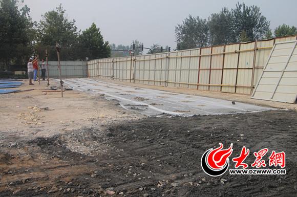 黄河路 广州路口管道整修方案更改 月底通车图片