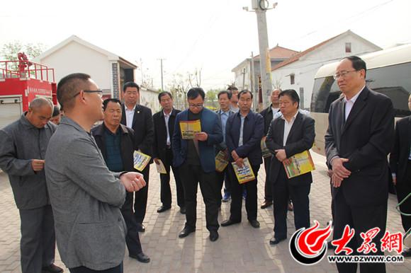 山东:建设美丽乡村 菏泽市开发区12名社区支书鄄城取经