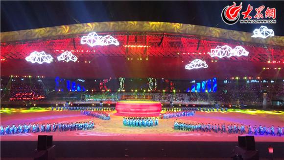 山东省第二十四届运动会12日在青岛隆重开幕