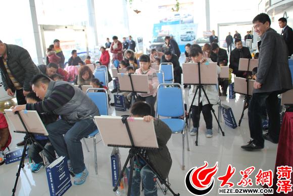海马汽车积极参与公益事业 举办首届少儿绘画大赛高清图片