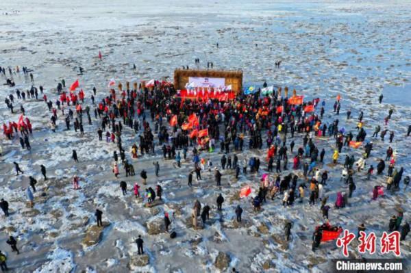 2020中国最北海岸线冰凌穿越生存