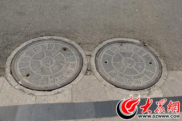 家住菏泽中达尚城的石先生在小区行走时,被两个飞起的污水井井盖击中