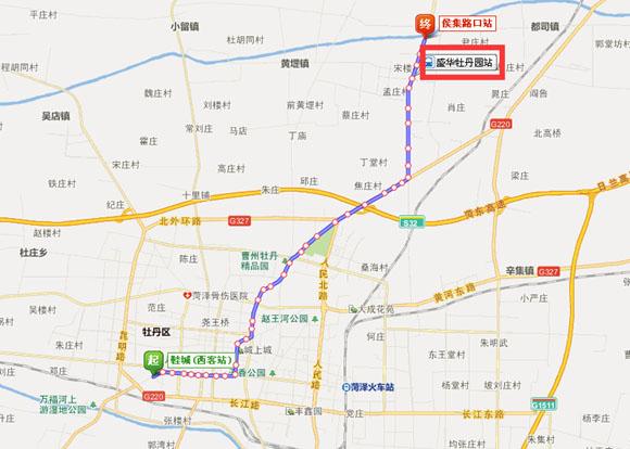 3路公交车路线图