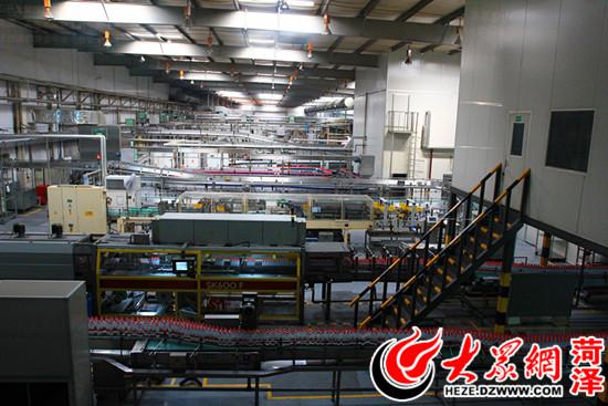 山东销售的农夫山泉产品主要来自淳安县的淳安水厂