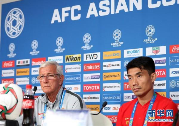 (体育)(3)足球——亚洲杯:中国队举行赛前新闻发布会