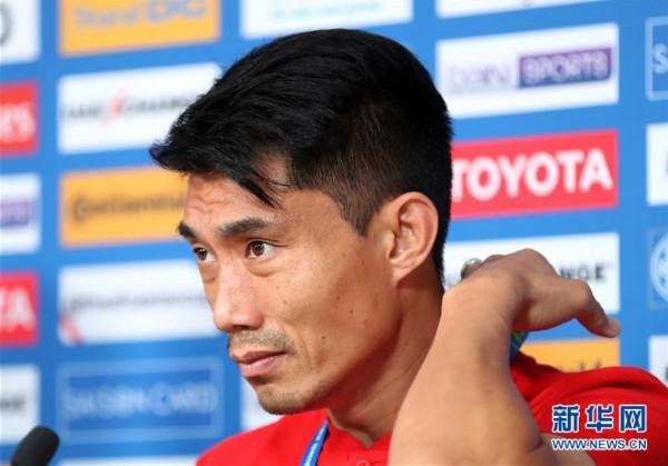 (体育)(2)足球——亚洲杯:中国队举行赛前新闻发布会