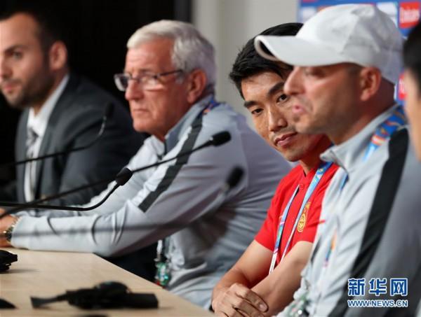(体育)(6)足球——亚洲杯:中国队举行赛前新闻发布会