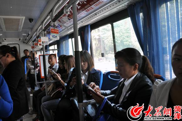 菏泽公交安装免费wifi 7路首试2月后推广