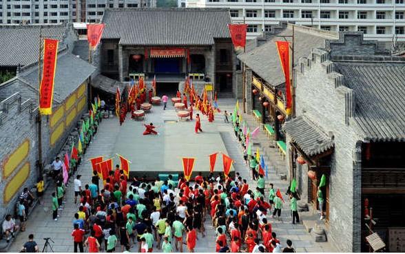郓城县水浒文化城_文化旅游_菏泽大众网图片