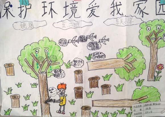 保护环境爱护树木