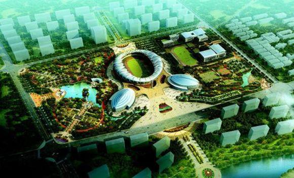菏泽体育公园规划设计图(资料图)